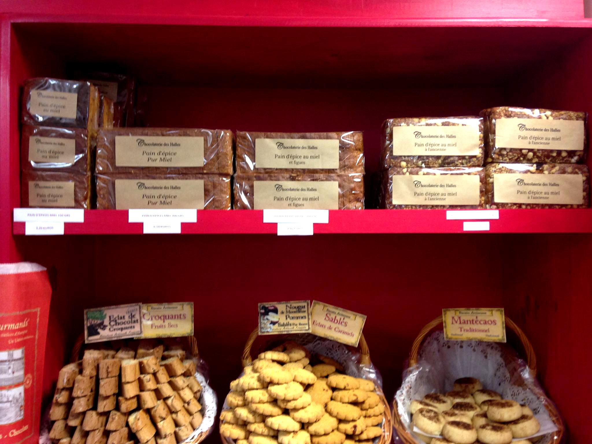 spécialités provençales biscuits et chocolats