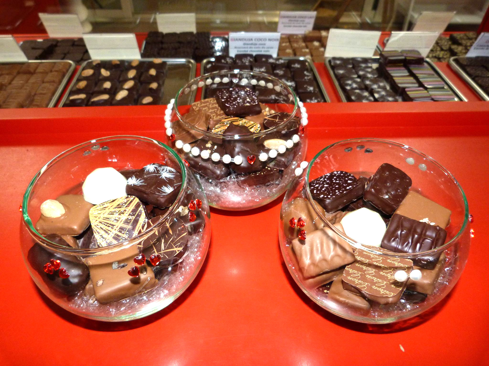 assortiment de chocolats la ciotat