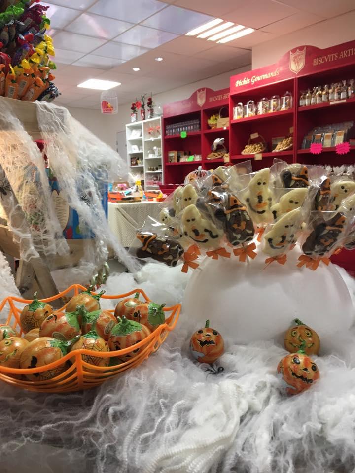 Halloween chocolaterie