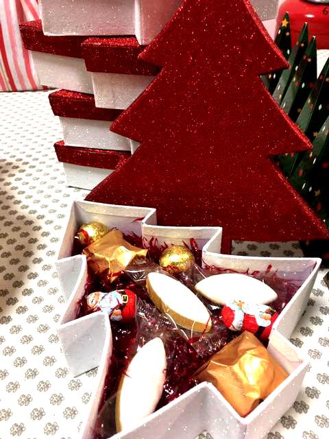 coffret chocolats de noël